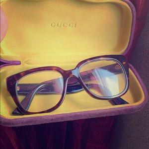 Auth.Gucci frame eyeglasses